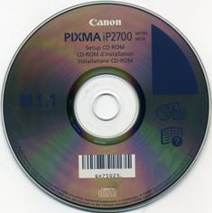 Здесь вы сможете скачать установочный диск принтера Canon PIXMA IP2700