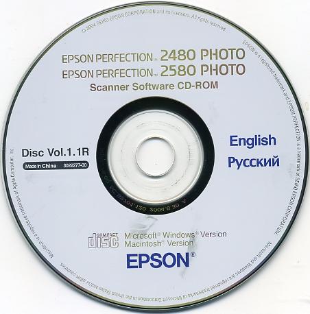 скачать драйвер для сканера epson perfektion 2480 photo